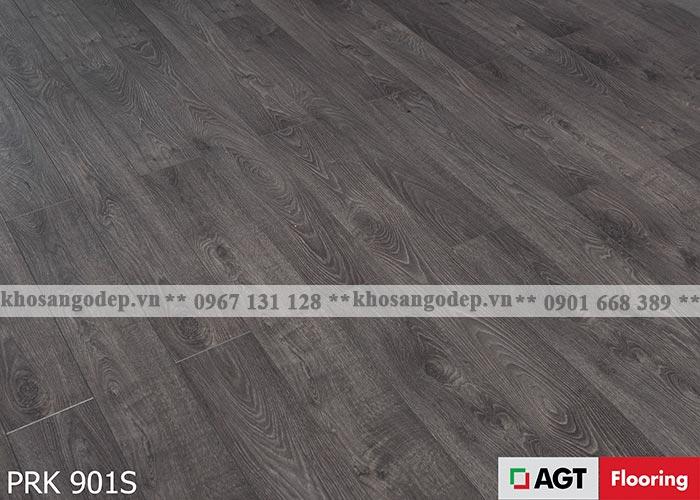 Sàn gỗ AGT 12mm màu ghi đen
