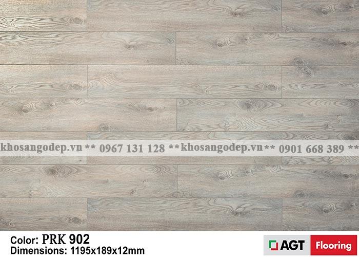 Sàn gỗ AGT 12mm màu lông chuột