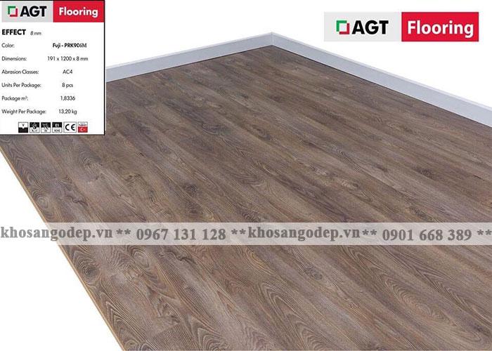 Sàn gỗ AGT 8mm PRK906M tại Hà Nội