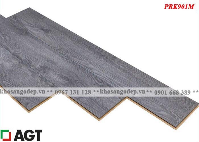 Sàn gỗ Thổ Nhĩ Kỳ AGT 8mm màu ghi đen