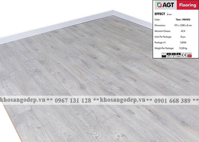 Sàn gỗ AGT 8mm PRK902M tại Hà Nội