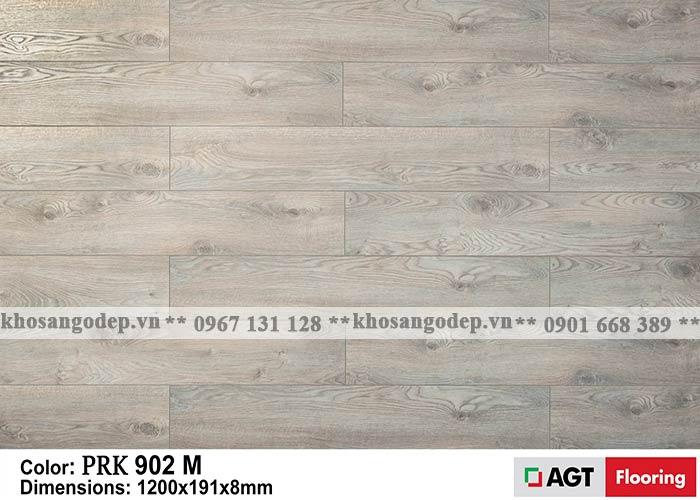 Sàn gỗ AGT 8mm màu lông chuột