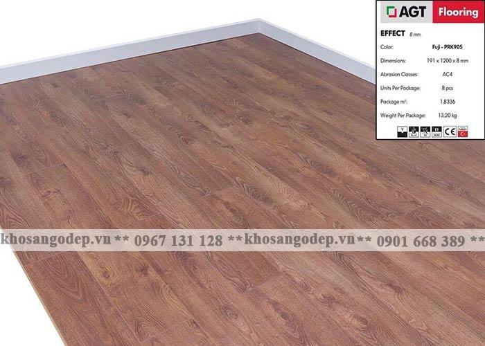 Sàn gỗ AGT 8mm PRK905M tại Hà Nội