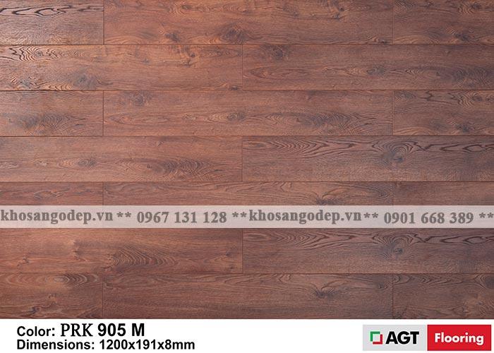 Sàn gỗ AGT màu đỏ nâu