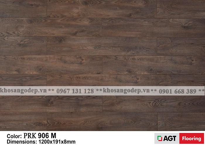 Sàn gỗ AGT 8mm màu nâu trầm