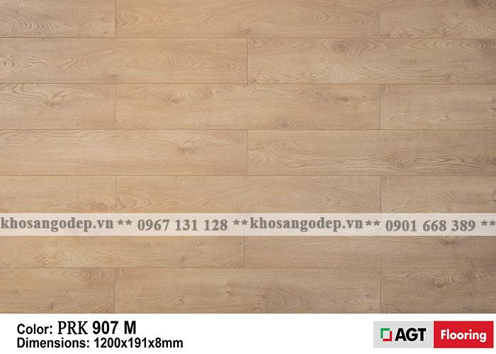 Sàn gỗ AGT 8mm màu vàng nhạt
