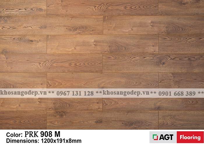 Sàn gỗ AGT 8mm màu nâu