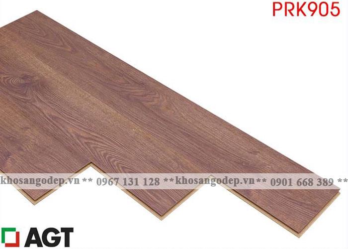 Sàn gỗ AGT 12mm màu đỏ nâu