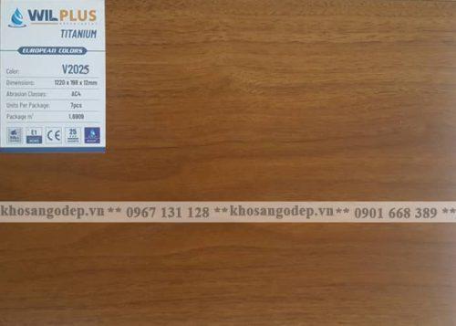Sàn gỗ Wilplus Titanium V2025