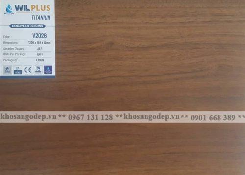 Sàn gỗ Wilplus Titanium V2026