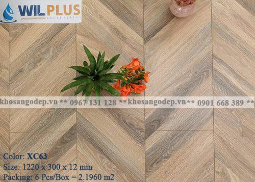 Sàn gỗ xương cá Wilplus XC63