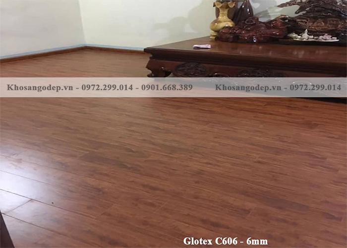 Sàn nhựa Glotex C606 (6mm)