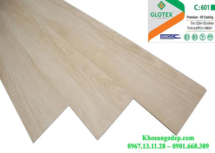 Sàn nhựa Glotex 6mm C601