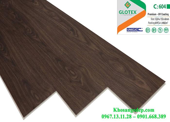 Sàn nhựa Glotex 6mm C604