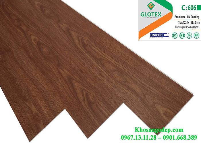 Sàn nhựa Glotex 6mm C606