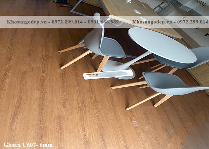 Sàn nhựa Glotex C607