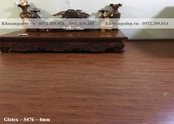 Sàn nhựa Glotex S476