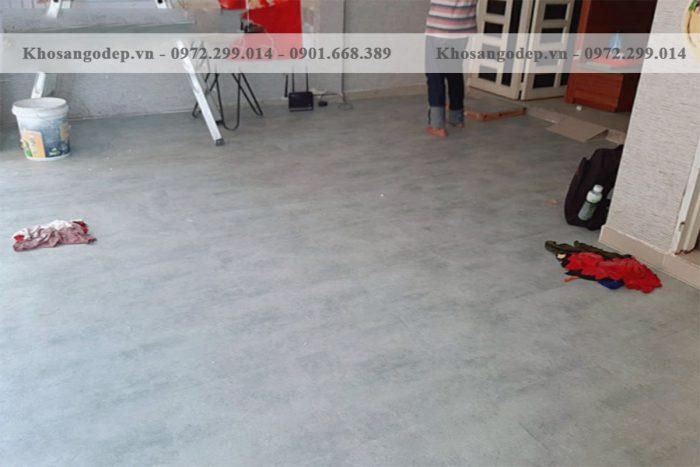 Sàn nhựa Glotex vân đá VD905