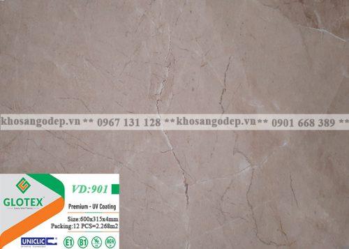 Sàn nhựa Glotex vân đá 4mm VD901