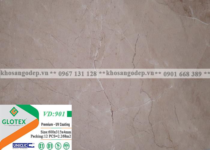 Sàn nhựa Glotex vân đá VD901 (4mm)