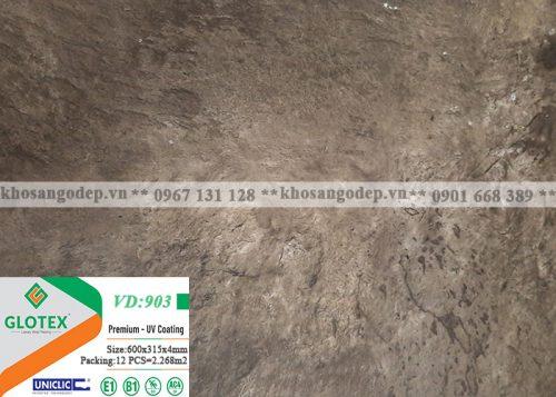 Sàn nhựa Glotex vân đá 4mm VD903
