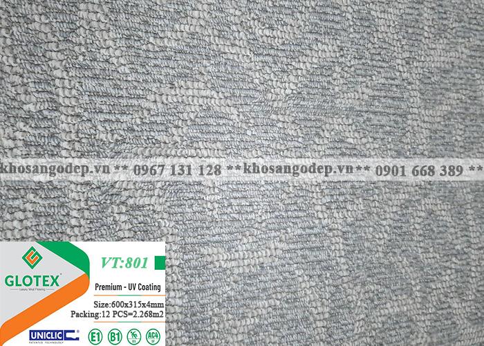 Sàn nhựa Glotex vân thảm VT801 (4mm)