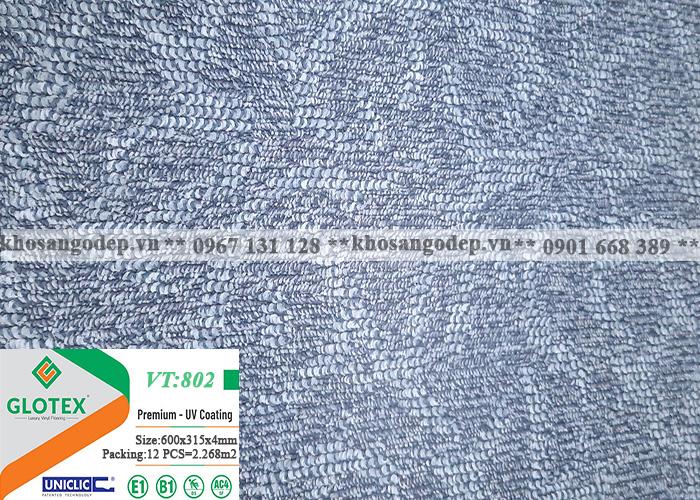 Sàn nhựa Glotex vân thảm VT802 (4mm)