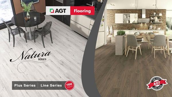 Sàn gỗ AGT trong thiết kế nội thất