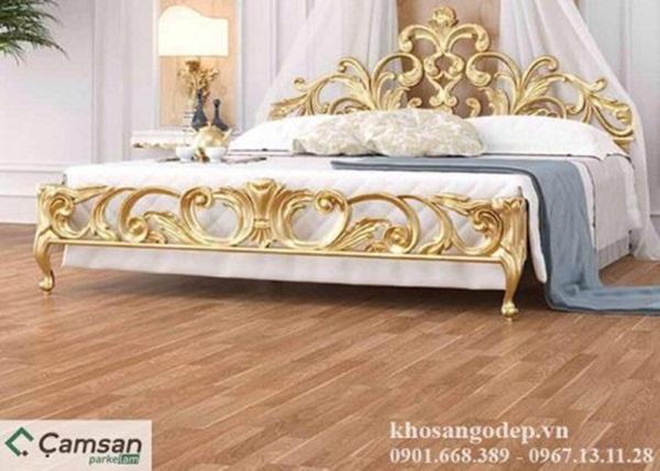 Tone màu gỗ vàng sáng