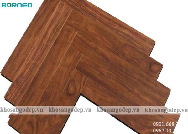 Sàn gỗ xương cá Borneo BN19768
