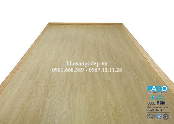Sàn gỗ cốt xanh là sản phẩm có ưu thế về khả năng chống ẩm cực tốt