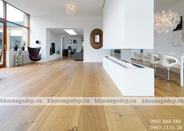 Sàn gỗ công nghiệp giá rẻ có nhiều ưu điểm