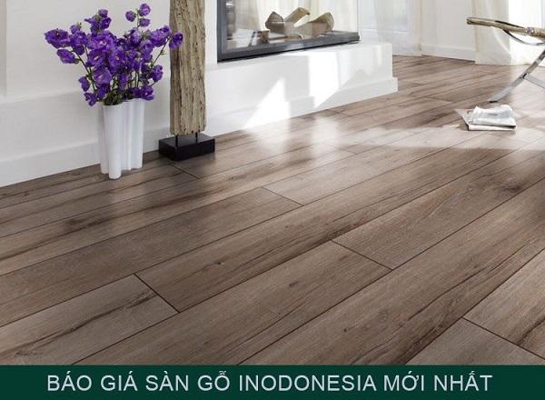 Báo giá sàn gỗ Indonesia mới nhất tại Kho Sàn Đẹp ZHome