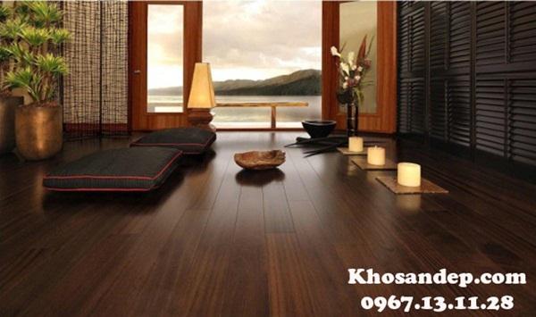 Sàn gỗ cao cấp và chất lượng tại Kho Sàn Đẹp ZHome