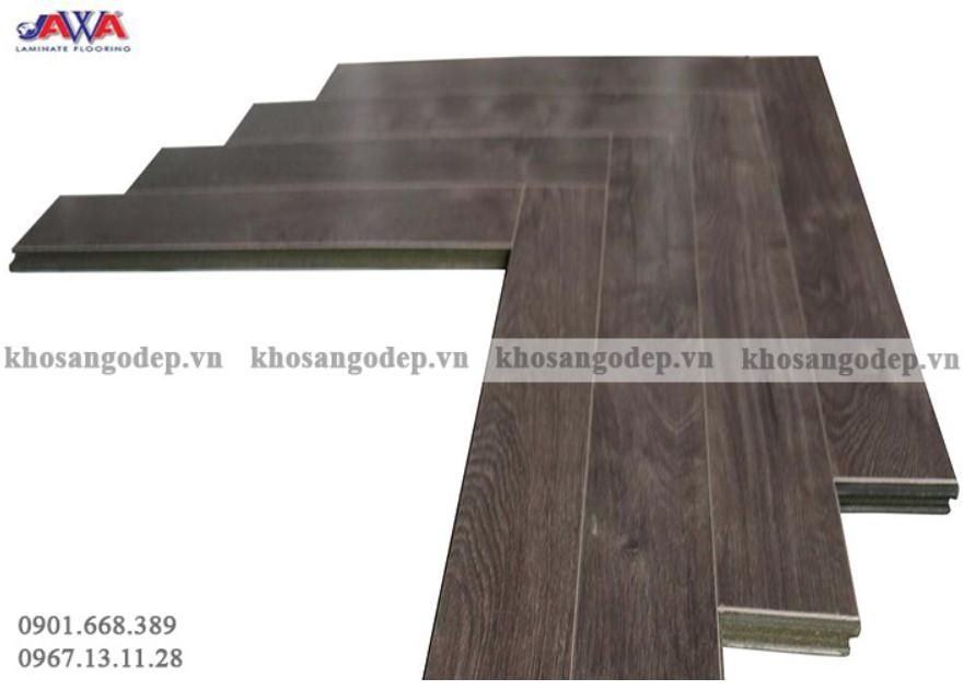 Sàn gỗ xương cá màu ghi xám dành cho những căn phòng mang phong cách hiện đại