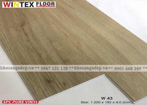 Sàn nhựa Wintex W43