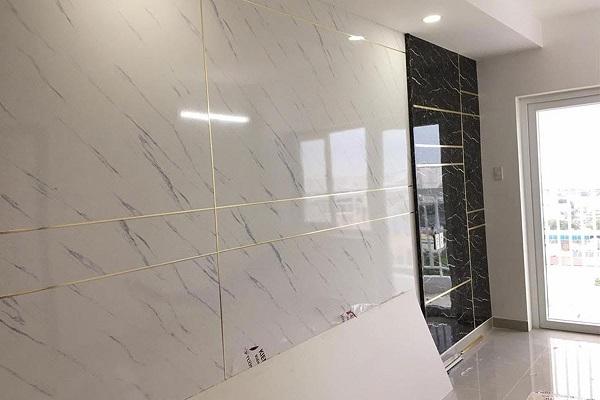 Tấm nhựa PVC vân đá Hà Nội dùng để ốp tường