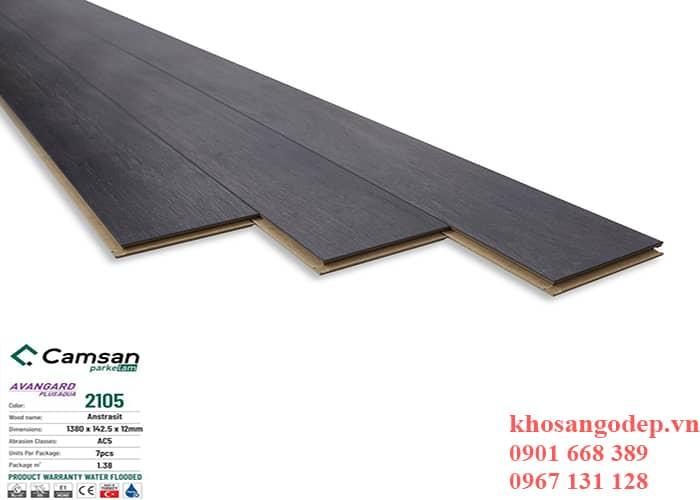Sàn gỗ Camsan 12mm 2105 tại Hà Nội