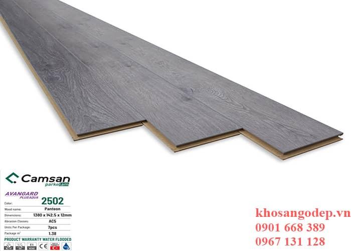 Sàn gỗ Camsan 12mm 2502 tại Hà Nội