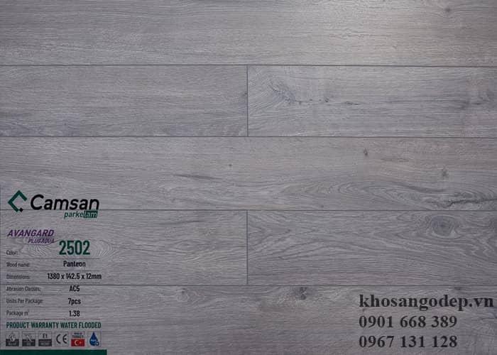 Sàn gỗ Camsan 12mm 2502
