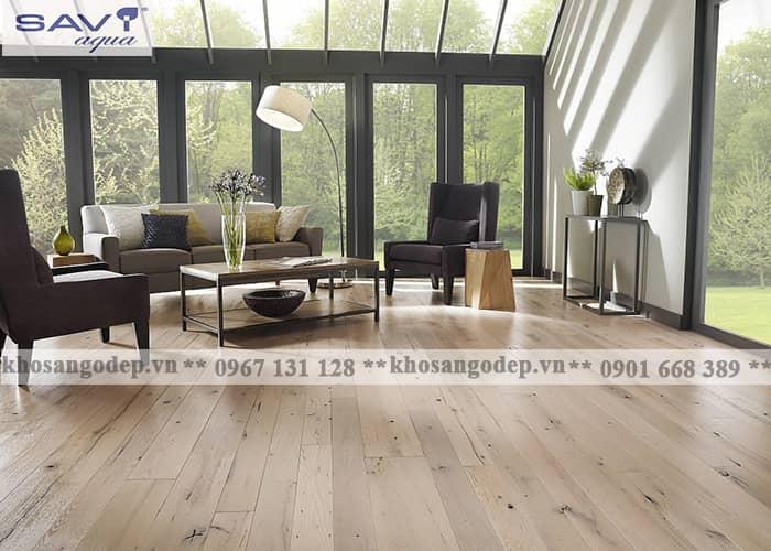 Báo giá sàn gỗ Savi Aqua 12mm