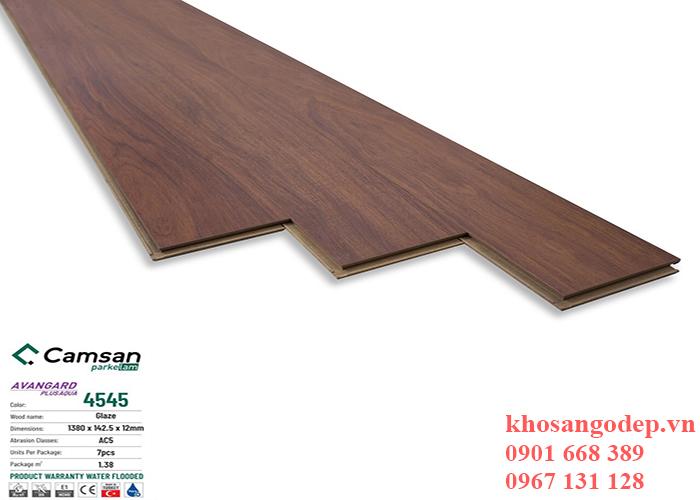 Sàn gỗ Camsan 12mm 4545 tại Hà Nội