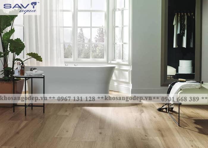 Sàn gỗ công nghiệp Savi Aqua