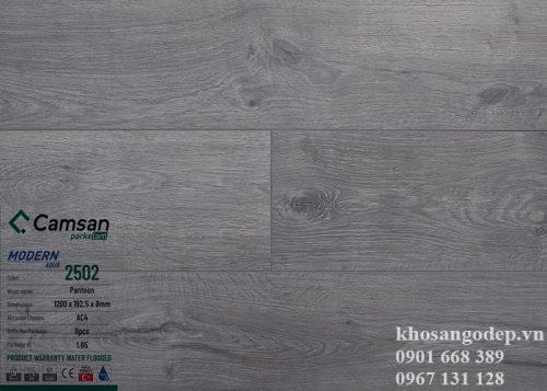 Sàn gỗ Camsan8mm 2502 tại Hà Nội