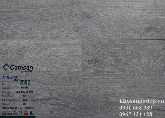 Sàn gỗ Camsan 8mm 2502