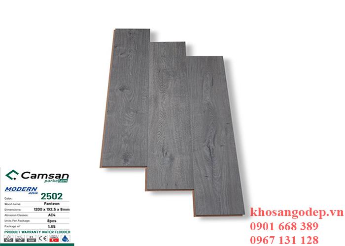 Sàn gỗ Camsan8mm 2502