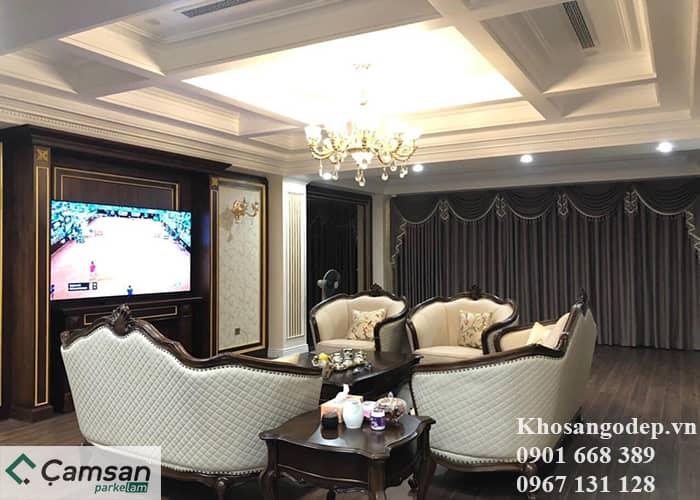 Sàn gỗ Camsan 8mm 720 tại Hà Nội