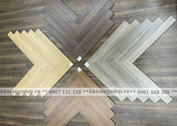 Sàn gỗ Clevel xương cá