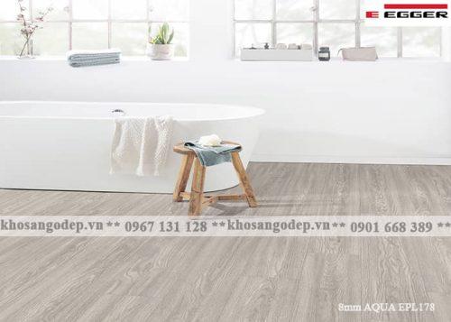 Sàn gỗ Đức Egger 8mm aqua EPL178