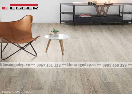 Sàn gỗ Egger Aqua 12mm EPL036